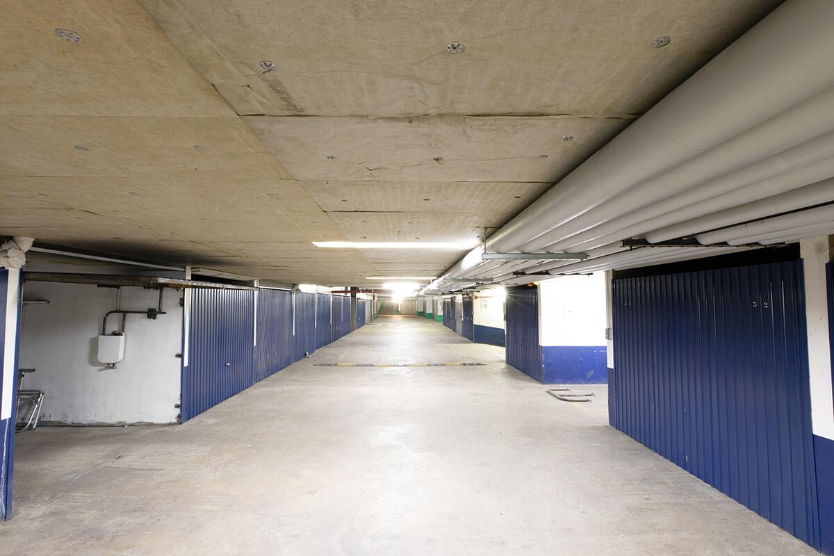 isolation copropriété planchers bas et calorifugeage dans parking