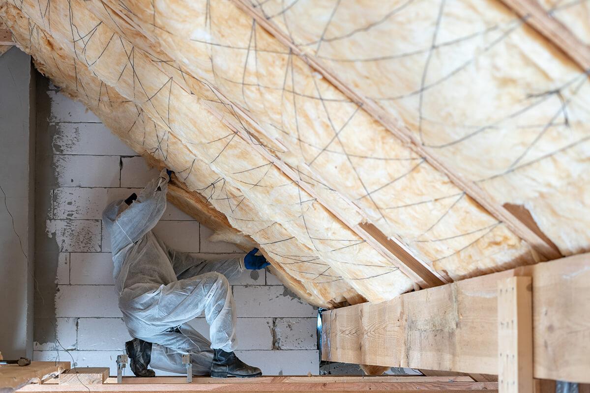 isolation sous toiture copropriété