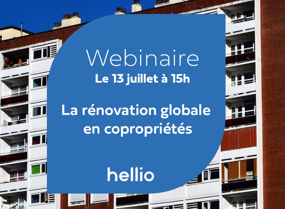 Replay du webinaire : la rénovation globale en copropriété, AMO, aides